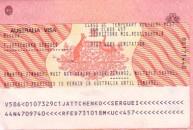 Visa công vụ Úc