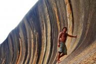 Du Lịch Úc Wave Rock – Kì quan thiên nhiên của Tây Úc