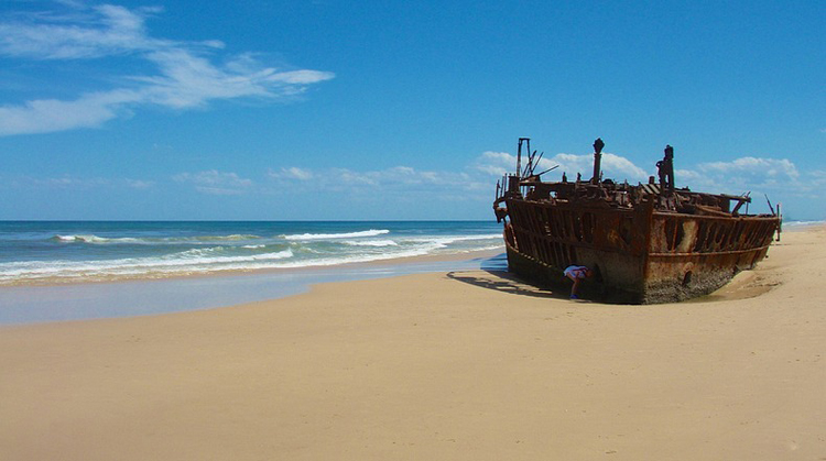 Tới Australia, thăm cồn cát trên đảo Fraser - 10