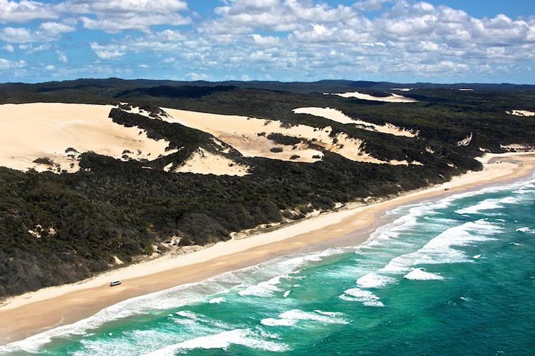 Tới Australia, thăm cồn cát trên đảo Fraser - 12