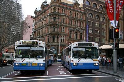 Xe bus đi Úc